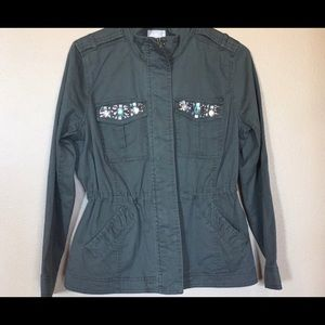 Re-Posh! Candies Brand Army Green Jacket!